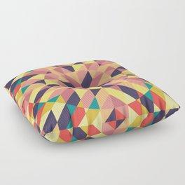 Winter Lights II Floor Pillow
