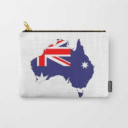 Australia Flag Map Carry-All Pouch