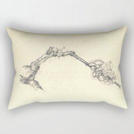 Blossoming branch Rectangular Pillow