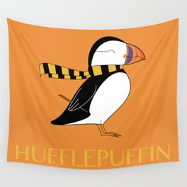 Hufflepuffin Wall Tapestry