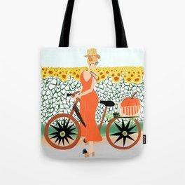 Pumpkin ride Tote Bag