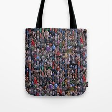 Star Wars Vintage Figures Collage Tote Bag