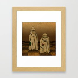 Playing for Peace Framed Art Print