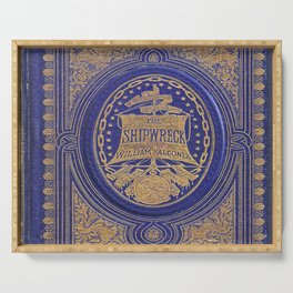 The Shipwreck Book Serving Tray