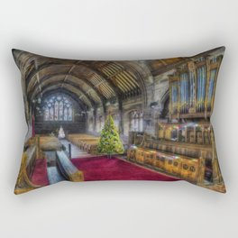 Christmas Church Service Rectangular Pillow