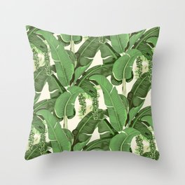 brazilliance vintage Throw Pillow