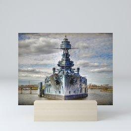USS Texas Mini Art Print