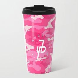 pink camoflag Travel Mug