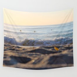 Surfers in the Morning Light Wall Tapestry