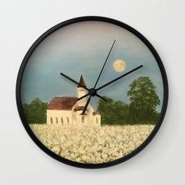 Rural church Wall Clock