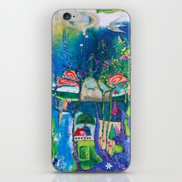 Traveling Into Infinity iPhone Skin