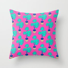 House Plant 01 Throw Pillow