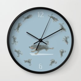 Run Dog, Run! Wall Clock