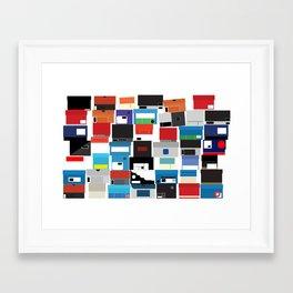 The Shoe Box Framed Art Print