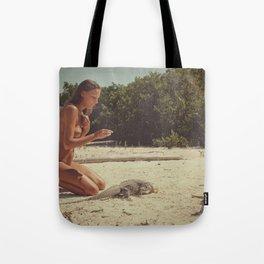 Iguana Island Tote Bag