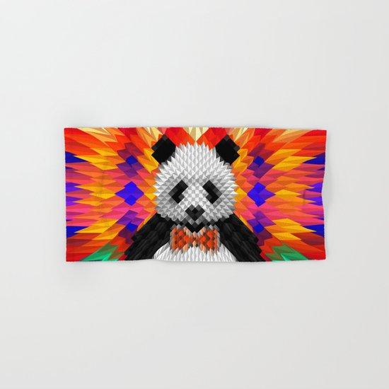 Geo Panda Hand & Bath Towel