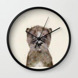 little otter Wall Clock