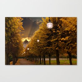 Avenue to the Castle at Windsor Canvas Print