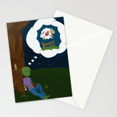 The Dead Do Dream Stationery Cards