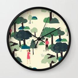 Modern Romance Redux Wall Clock
