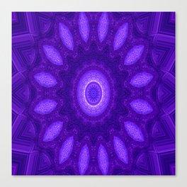 Circle of Spirituality.... Canvas Print