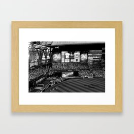 'They're Gonna Wave Him In' Framed Art Print