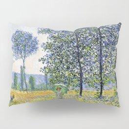 Claude Monet Sunlight Effect Under The Poplars 1887 Pillow Sham