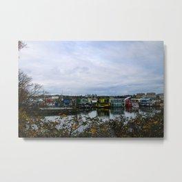 town on the sea Metal Print
