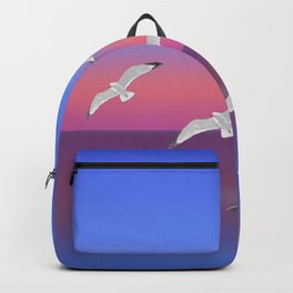 Where the ocean meets the sky Backpack