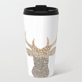 GOLD DEER Metal Travel Mug