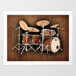 Hendrix  Drums Art Print