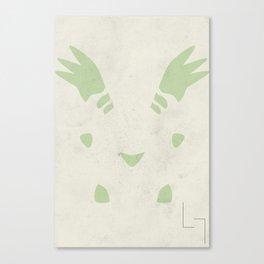 Terriermon Canvas Print