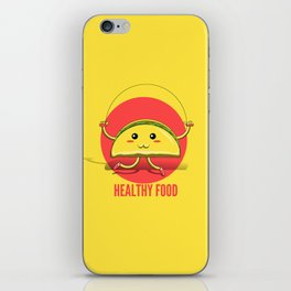 Healthy Food iPhone Skin