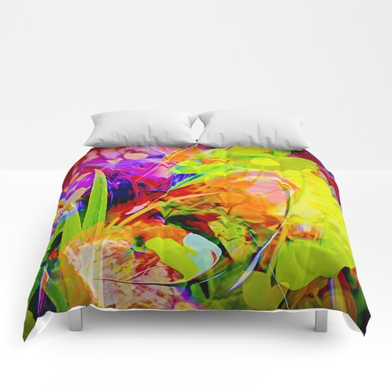 Nature Abstract 2 Comforters