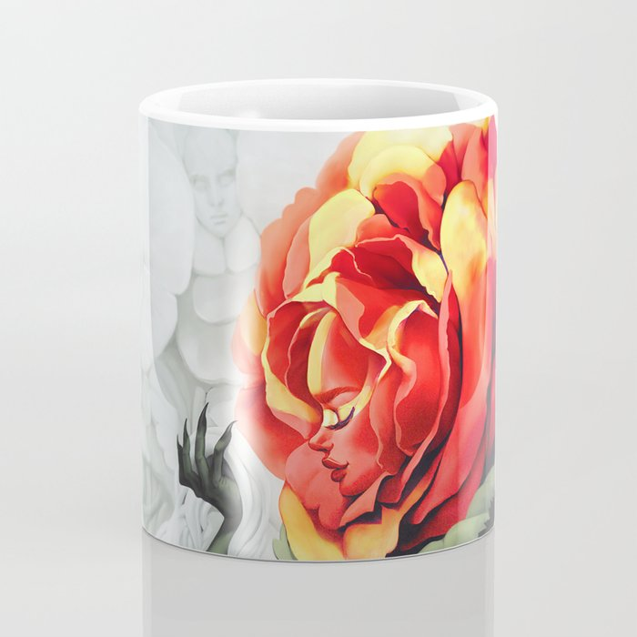 Alice in Wonderland Rose Coffee Mug