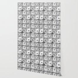 Black flowers Wallpaper