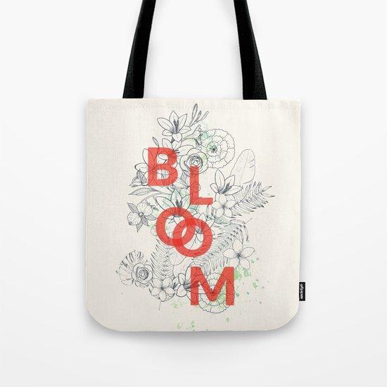 Vintage Bloom #society6 Tote Bag