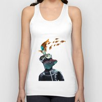 submarine Tank Tops featuring SUBMARINE by Momenti Riciclati