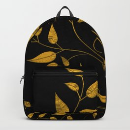 TREES VINES AND LEAVES OF GOLD Backpack