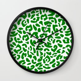 Leo Green Wall Clock