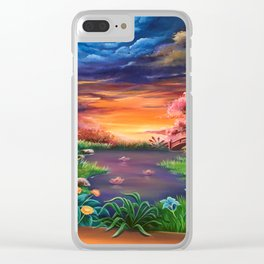 On the other side Clear iPhone Case