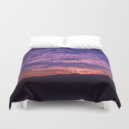 SW Mountain Sunrise - II Duvet Cover