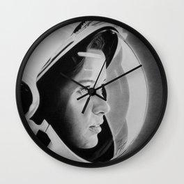 Anna Lee Fisher Wall Clock