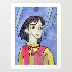 Find me in the future. Art Print