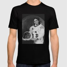 Frida in Space Black LARGE Mens Fitted Tee