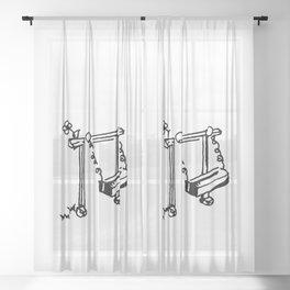 Apart Sheer Curtain