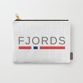 Norway Fjords Carry-All Pouch