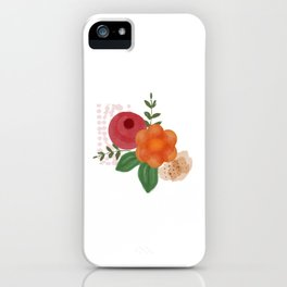 Berries of nature. iPhone Case