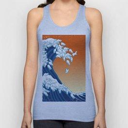Llama Waves Unisex Tanktop