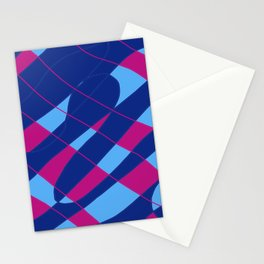 AbstractBlue Stationery Cards
